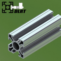 工业铝型材3030 4槽 流水线铝型材 30*30 4槽 工厂现货