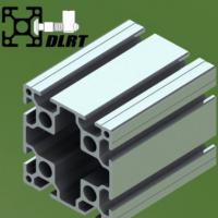 工业铝型材8080 8槽重型加厚铝型材银白光亮面铝型材