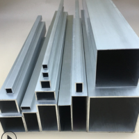 木纹烤漆铝合金方管型材铝方管铝方通方铝管小方管四方管空心方条