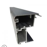 厂家直销户外50*60防水拉布灯箱铝型材 大型加固工程拉布灯箱型材