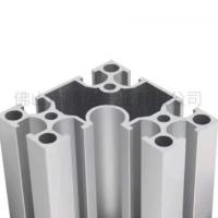 8840转弯铝合金型材 半圆弧R铝材批发铝合金型材流水线铝型材