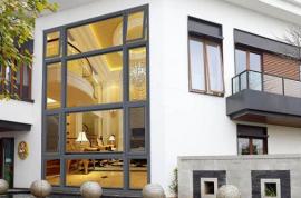 断桥铝门窗的中空玻璃越大越好?多大合适?