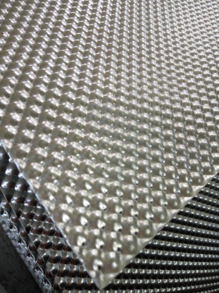 半球压花纹铝板 1060半球铝板  0.5毫米汽车隔热铝板
