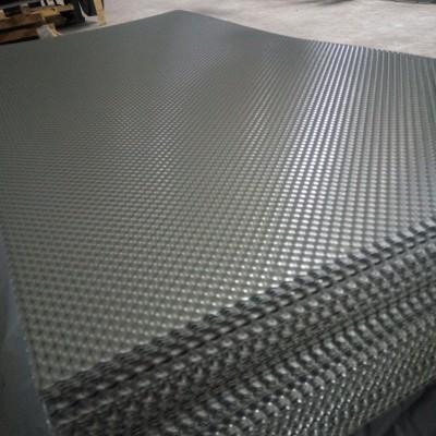 现货 花纹板 橘皮花纹 0.5mm花纹铝板 保温隔热 厂家供应