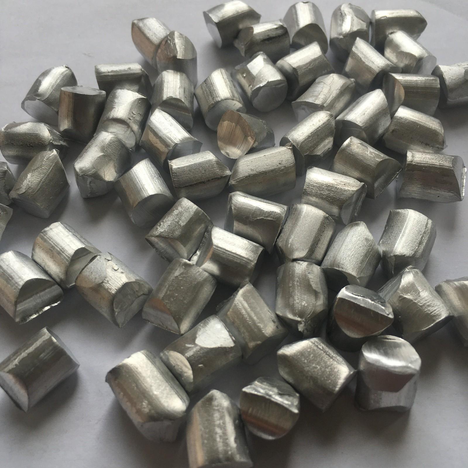 铝业厂家供应1060脱氧  99.7%铝粒 铝颗粒 铝豆